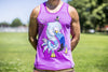 High On Life Flamingo Tank Top Purple