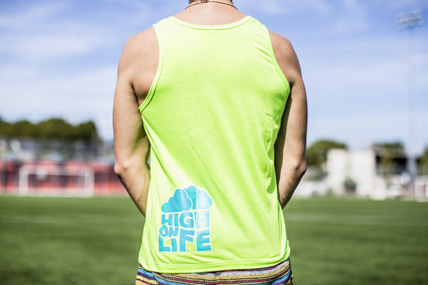 High On Life Giraffe Tank Top Green