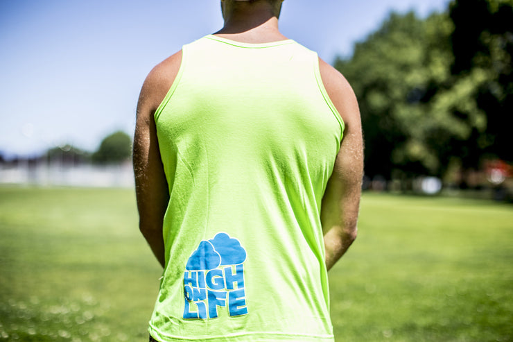 High On Life Lion Tank Top Green