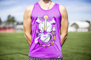 High On Life Rhino Tank Top Purple