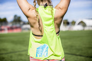 High On Life Tank Top Green Girls Loose Fit Rhino
