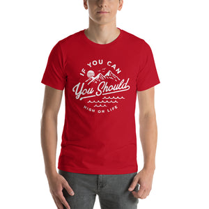 You Should! Men's Red T