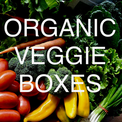 ORGANIC VEGGIE BOX - February - April 2021 -- 12 weeks x $25/week = $300.