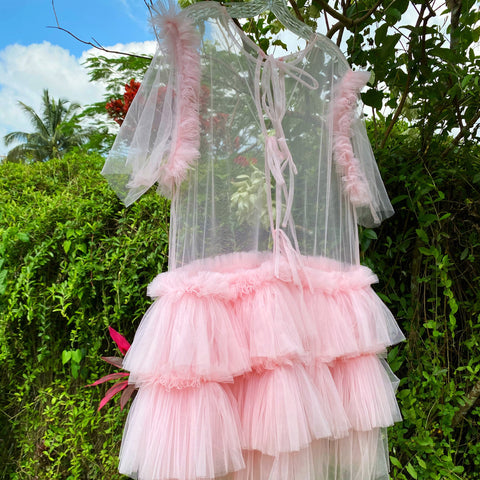 Tulle Shirtdress