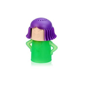 Angry-Mama Microwave Cleaner Purple/Green