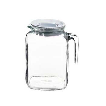 Bormioli Rocco Frigoverre Jug with Lid, 77 3/4 Ounces