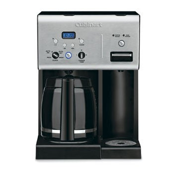 Cuisinart Coffee Plus 12 Cup Programmable Coffeemaker plus Hot Water System