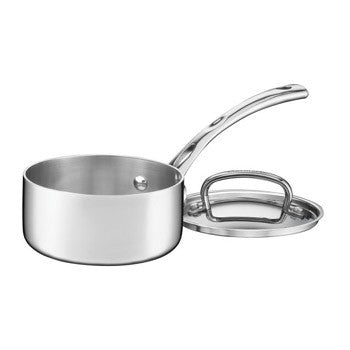 Cuisinart French Classic Tri-Ply Stainless 1 Quart Saucepan with Lid