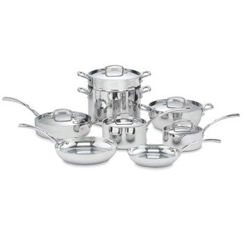 Cuisinart French Classic Tri-Ply Stainless 13 Piece Set