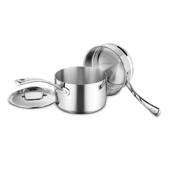 Cuisinart French Classic Tri-Ply Stainless 3 Piece Double Boiler Set