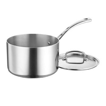 Cuisinart French Classic Tri-Ply Stainless 4 Quart Saucepan with Lid