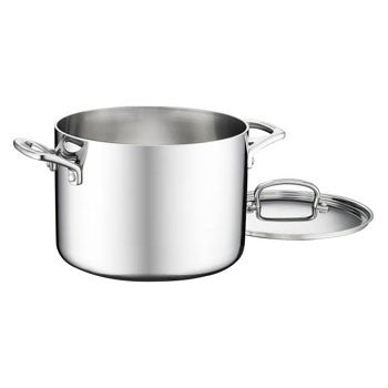 Cuisinart French Classic Tri-Ply Stainless 6 Quart Stockpot with Lid
