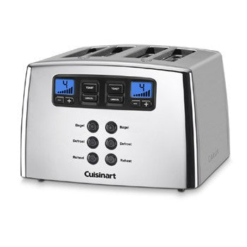 Cuisinart Touch to Toast Leverless 4 Slice Toaster