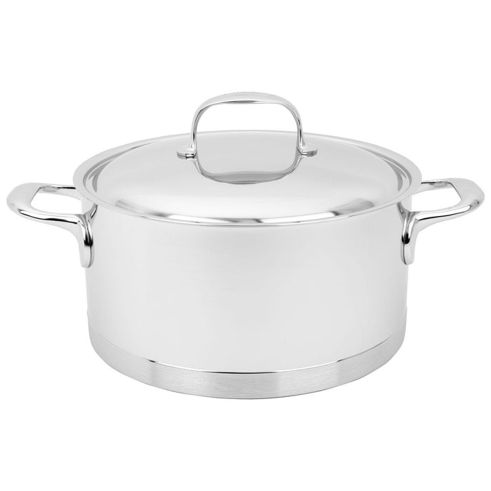 Demeyere Atlantis 7-Ply 5.5 Qt Stainless Steel Dutch Oven