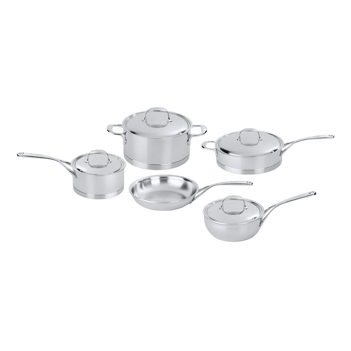 Demeyere Atlantis 7-Ply 9 Piece Stainless Steel Cookware Set