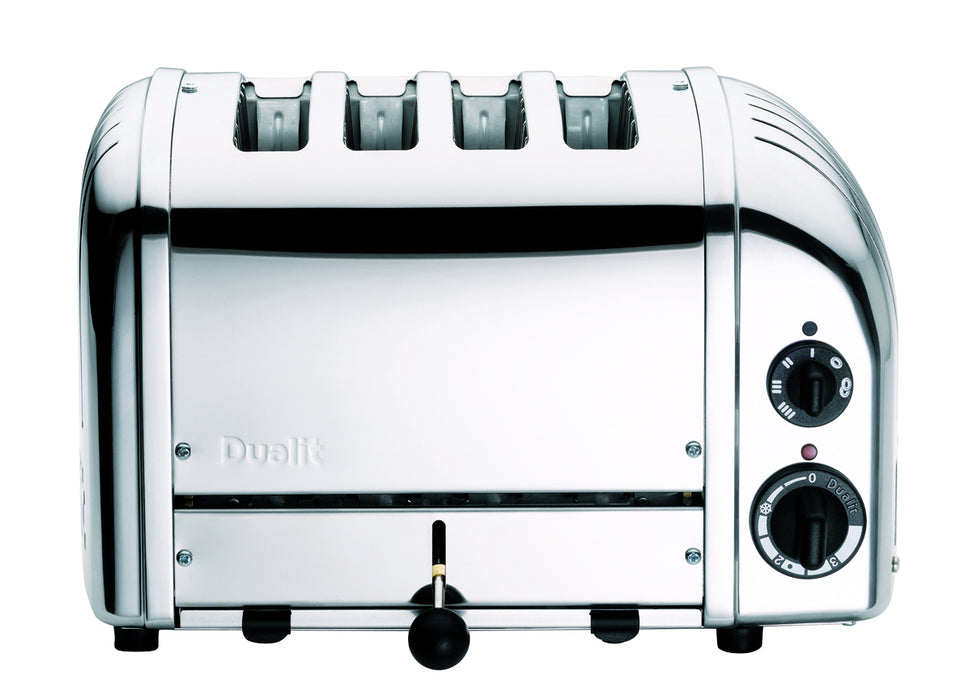 Dualit 4 Slice NewGen Classic Toaster in Chrome