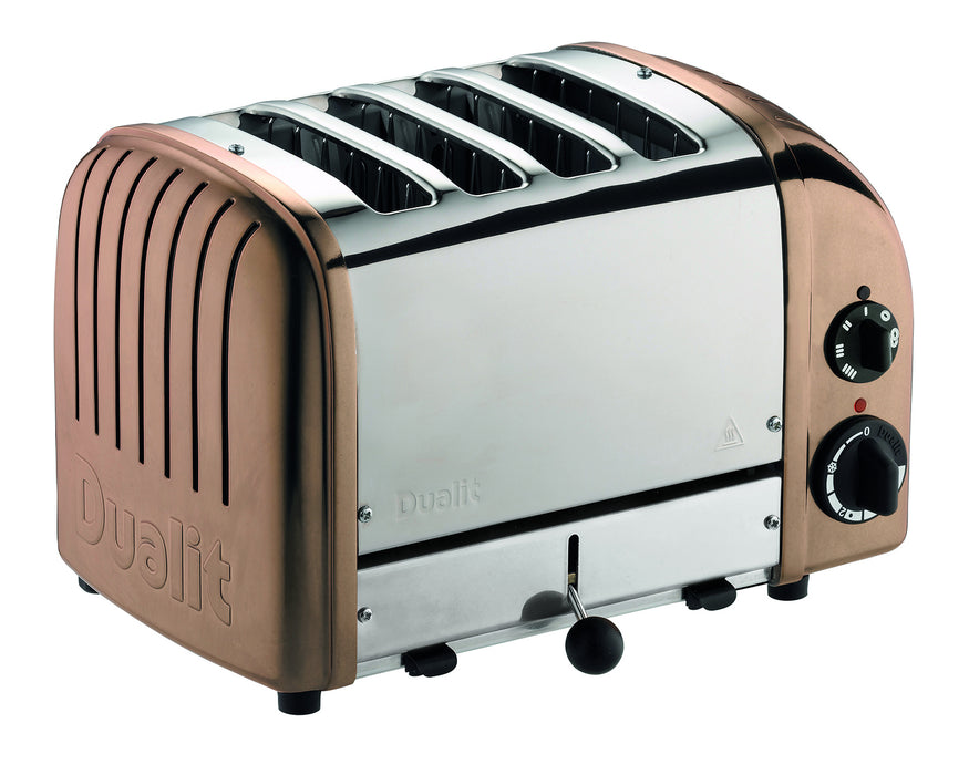 Dualit 4 Slice NewGen Classic Toaster in Copper