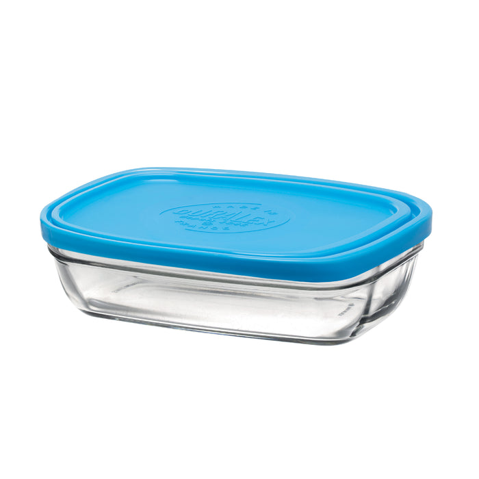 Duralex Lys Rectangular Bowl with Lid