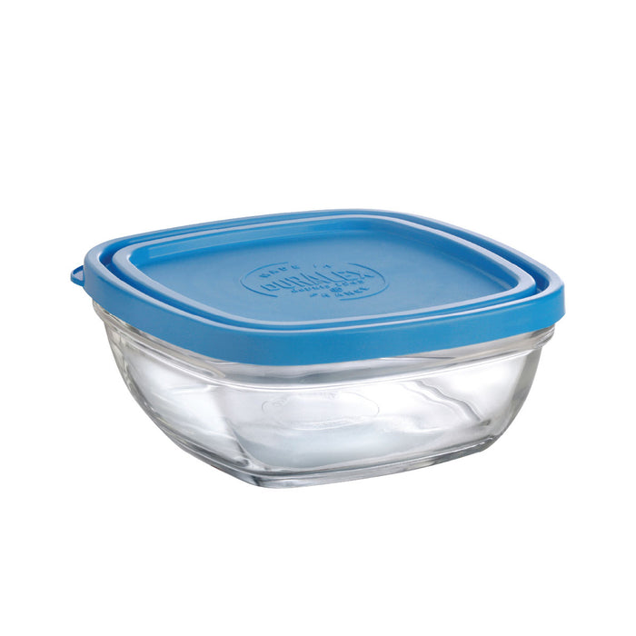 Duralex Lys Square Bowl with Lid 20 oz
