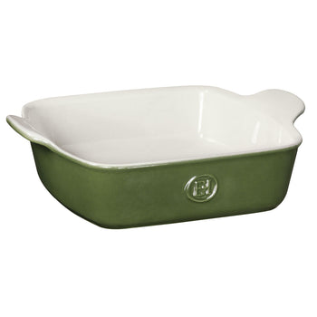 "Emile Henry 8""x8"" Square Baking Dish in Green"