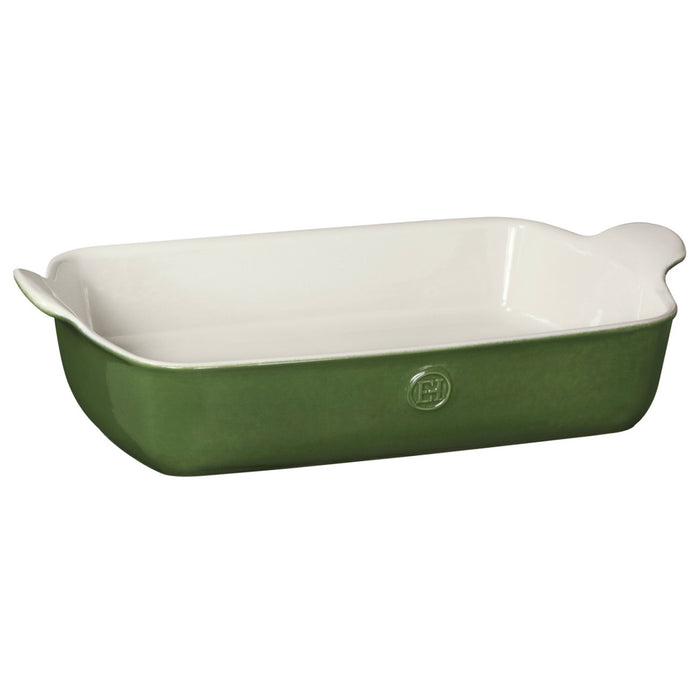 Emile Henry Modern Classics Large Rectangular Baker in Green