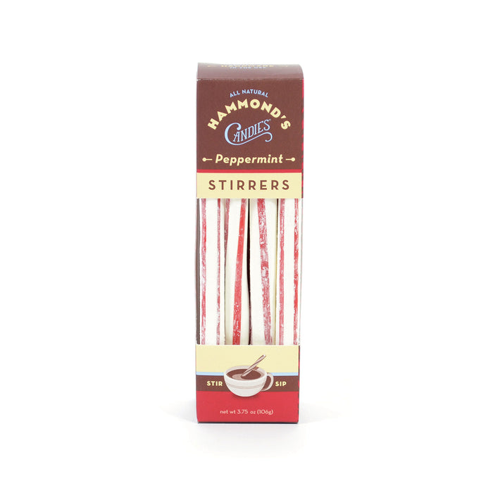 Hammond's Natural Peppermint Cocoa Stirrers