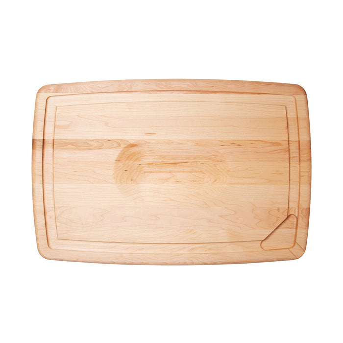 JK Adams Maple Reversible Pour Spout Carving Board