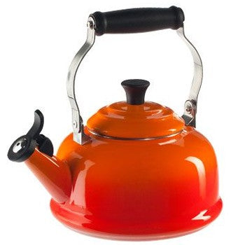 Le Creuset Classic Whistling Kettle in Flame
