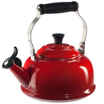 Le Creuset Classic Whistling Kettle in Red