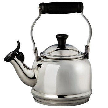Le Creuset Demi Tea Kettle in Stainless Steel