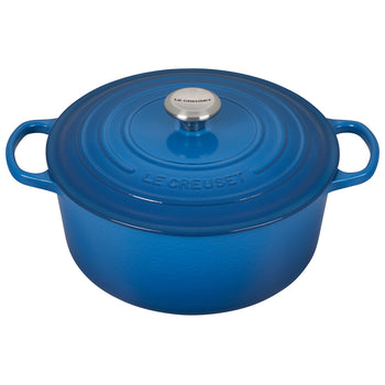 Le Creuset Enameled Cast Iron Signature Marseille 7 1/4 Quart Round French Oven