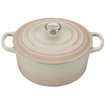 Le Creuset Enameled Cast Iron Signature Meringue 3 1/2 Quart Round French Oven
