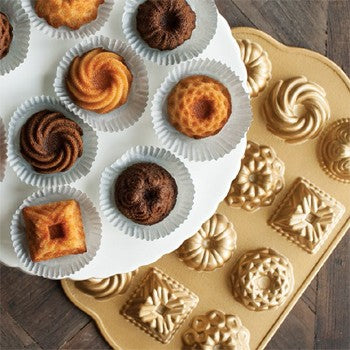 Nordic Ware Premier Gold Collection Bundt Charms