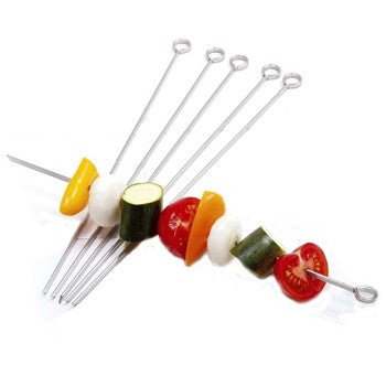 "Norpro 12"" Stainless Steel Skewers"