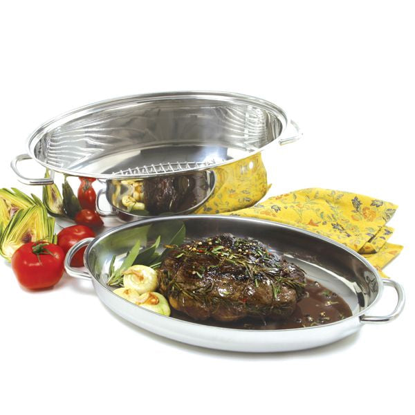Norpro KRONA Stainless Steel 8 Quart Multi Roaster