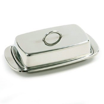 Norpro Stainless Steel Butter Dish