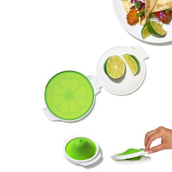 OXO Good Grips Cut & Keep Silicone Lime Saver