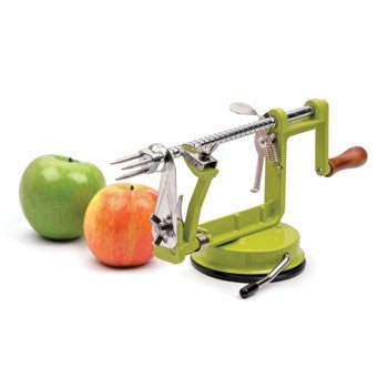 RSVP Endurance Apple Slicer, Corer, and Peeler with Suction Base