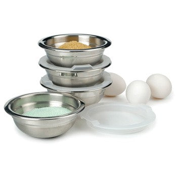RSVP Endurance Prep Bowls and Lids - Set of 4