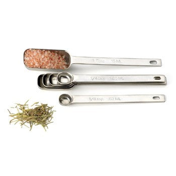 RSVP Endurance Spice Spoon Set, Set of 6