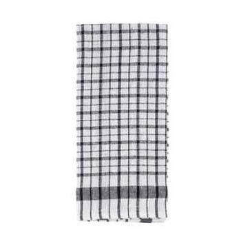 Ritz Royale Checked Wonder Towel in Black