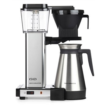 Technivorm Moccamaster Polished Silver Thermal Coffee Maker