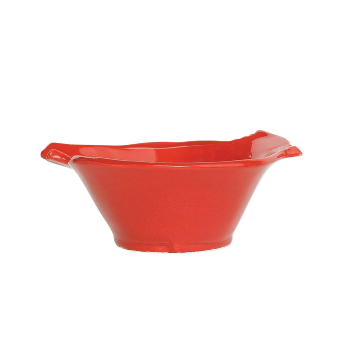 Vietri Lastra Holiday Figural Red Bird Small Bowl