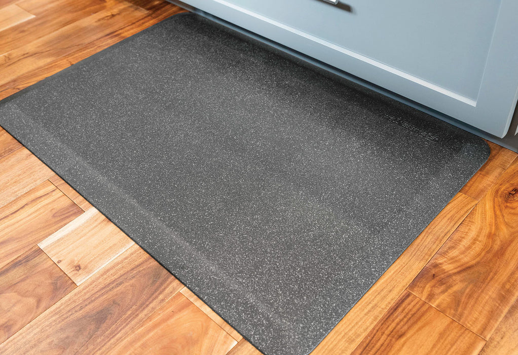WellnessMats Granite Collection in Steel, 6' by 2'