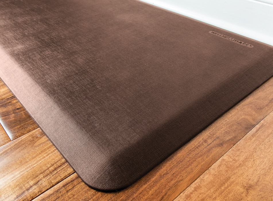 WellnessMats Linen Collection in Antique Light, 6' by 2'