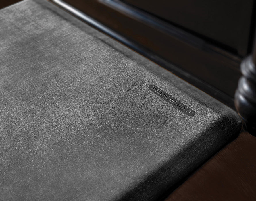 WellnessMats Linen Collection in Onyx, 3' by 2'