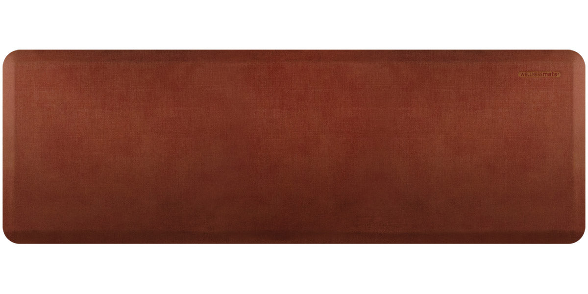 WellnessMats Linen Collection in Sunset, 3' by 2'
