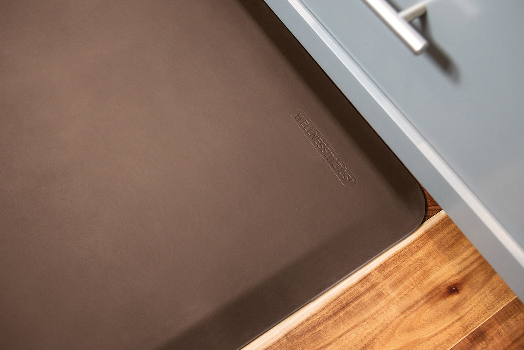WellnessMats Original Collection in Brown, 3' by 2'
