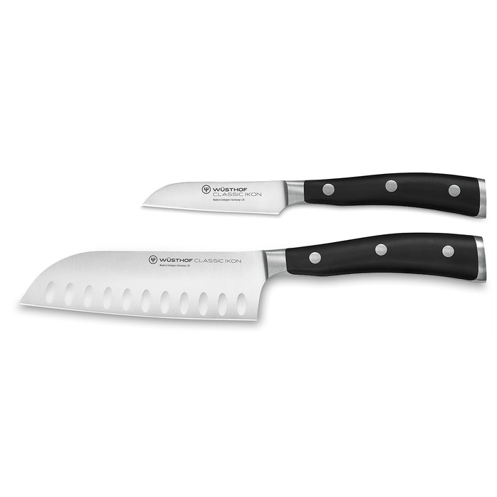 Wusthof Classic Ikon Forged Two Piece Mini Asian Set