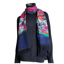 Load image into Gallery viewer, Fushia Sparrow Scarf